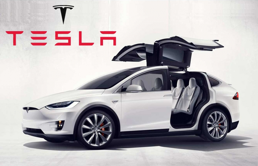 Progetto Model X Tesla California